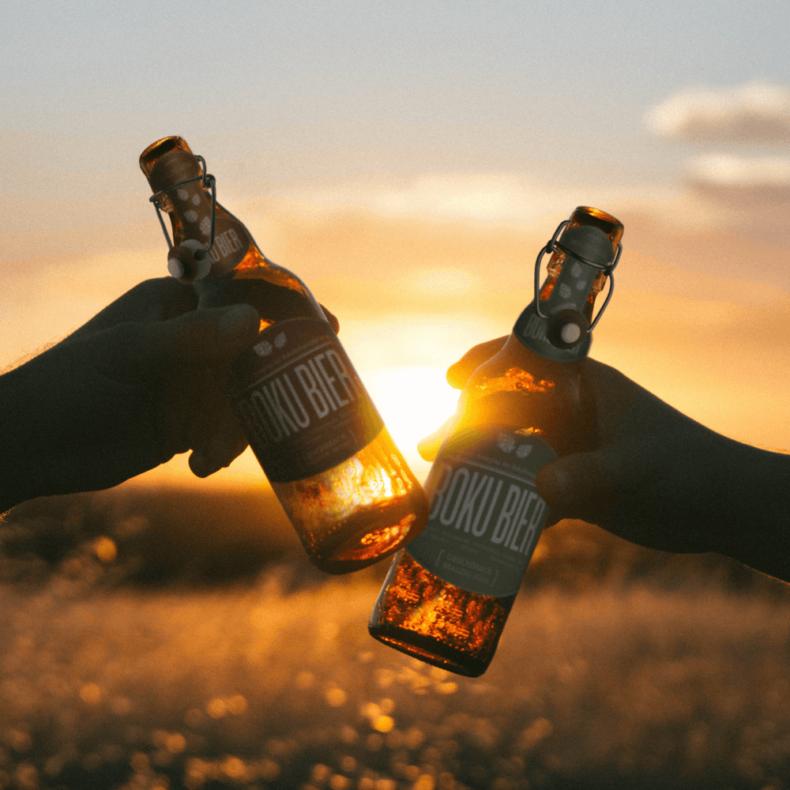 Boku Beer Cheers Picture