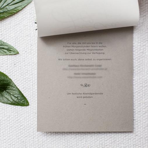 Invitation Church wedding night