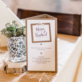 Traditional Wedding Stationary